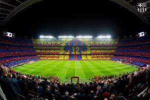 Night at Camp Nou FC Barcelona
