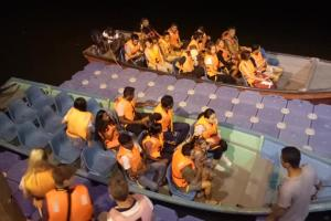 fireflies watch ( on boating)