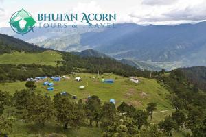 Bumdrak Campsite in Bhutan