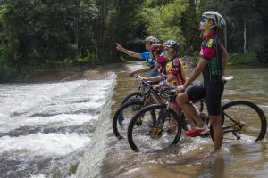 Cycling in Kiulu, Sabah