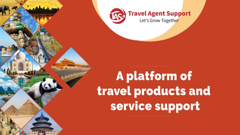 Travel Agent Support - A platform of travel products and service support
