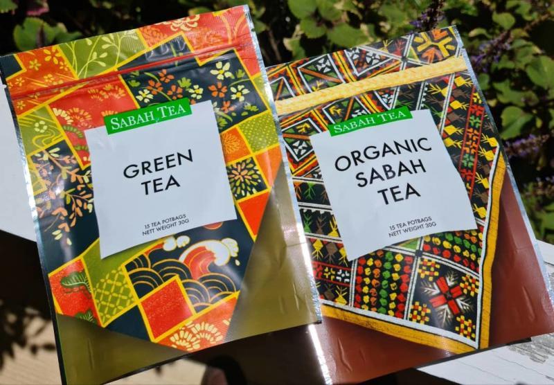 Green Tea & Organic Sabah Tea