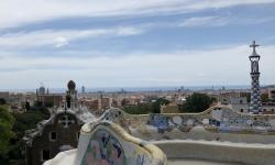 Park Güell. Barcelona. THE REAL THING viajes