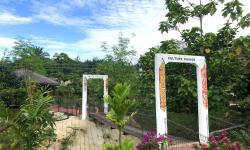 KLB Garden cultural bridge