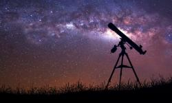gaze at stars in Catalonian countryside